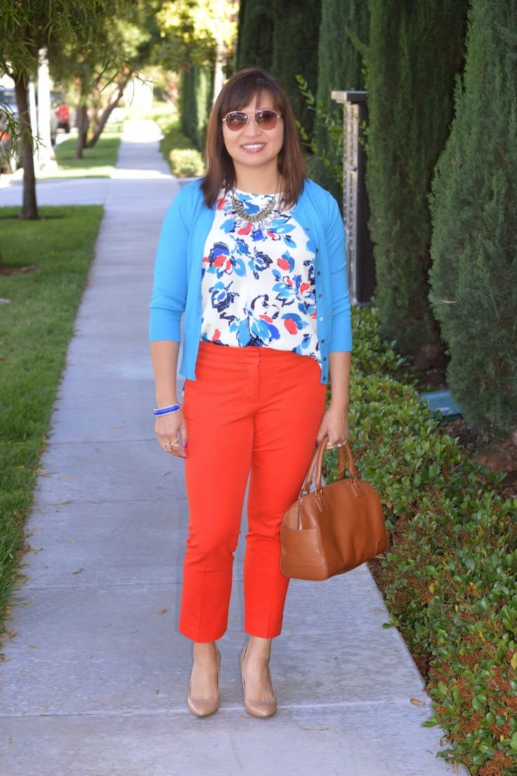 Matching outfit, Over 40 fashion, work style, Tory Burch Robinson Middy Satchel, Rocksbox, work style