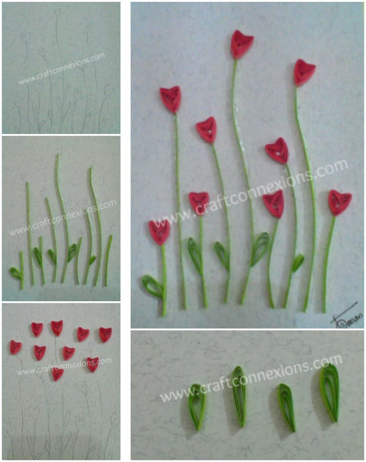 Quilling Step By Step Tutorial