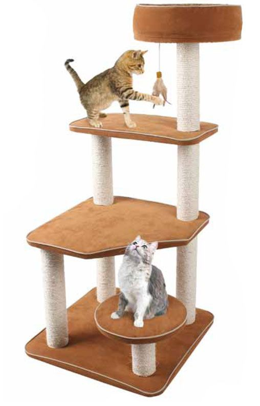 Climbing Cat Activity Tree with Removable Fabric