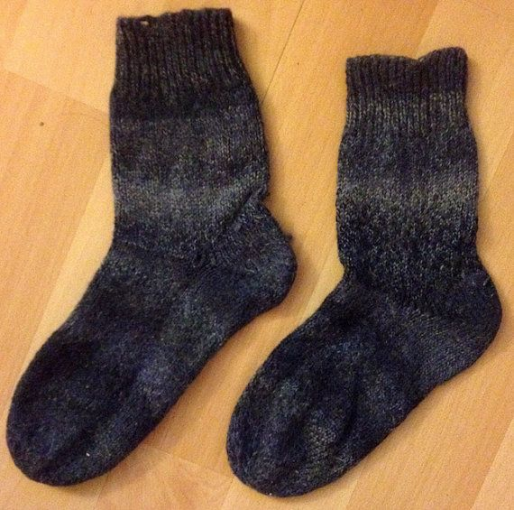 Woolen Socks // Wollen Sokken van Dowinium op Etsy