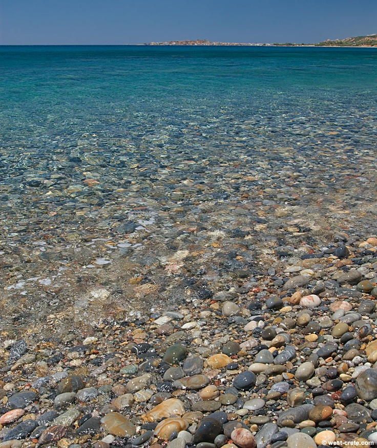 Paleochora seen from Anidri beach  - Click to enlarge