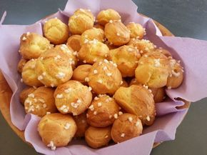 La recette facile: les chouquettes !
