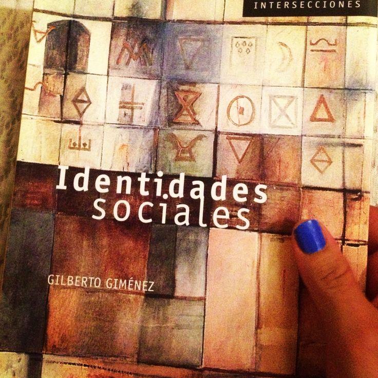 """""""Identidades Sociales"""" de Gilberto Giménez - Colección Intersecciones #CONACULTA #GestionCultural"""