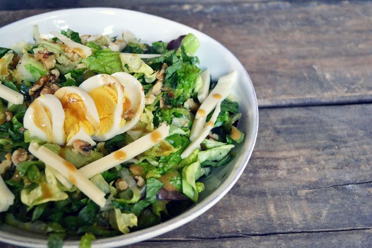 Farm Fresh To You - Recipe: Salad with Hardboiled Egg and Walnuts
