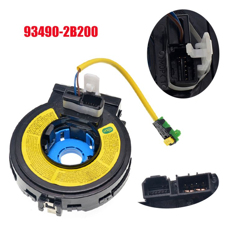 Spiral Cable Steering Wheel Clock Spring 93490-2B200 934902B200 For Hyundai Santa Fe 2007 -2010  #Affiliate