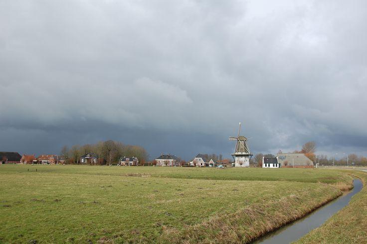 Donkere wolken boven Groot Wetsinge