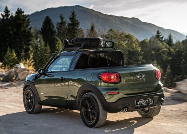2014 Mini Paceman Adventure is The car mans