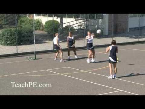how to teach netball defence