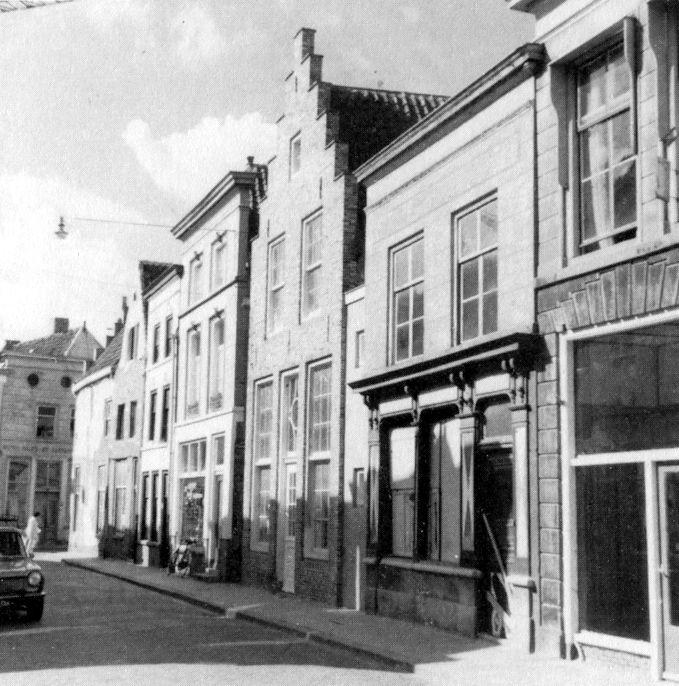 Korte Putstraat - anno 1960 Bistro Allerlei en Restaurant de Visserij Den Bosch