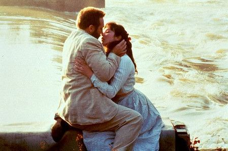 Isabelle Adjani and Gerard Depardieu in Camille Claudel directed by Bruno Nuytten, 1988