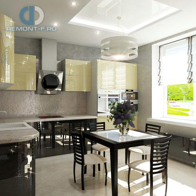 Кухня в стиле конструктивизм. Фото интерьера квартиры