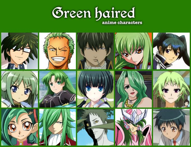 Cartoon Characters Green : Anime characters cartoon persons photos code g