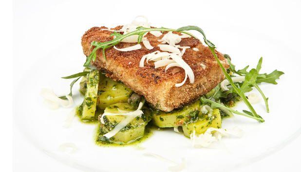 Seifilet er en lettvint, rask og sunn middag. I denne oppskriften panerer du seien og gir den en smak av persille. #fisk #oppskrift