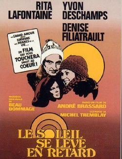 """""""Le Soleil se leve en retard"""" (1977) Directed by Andre Bressard Quebec/Canada"""