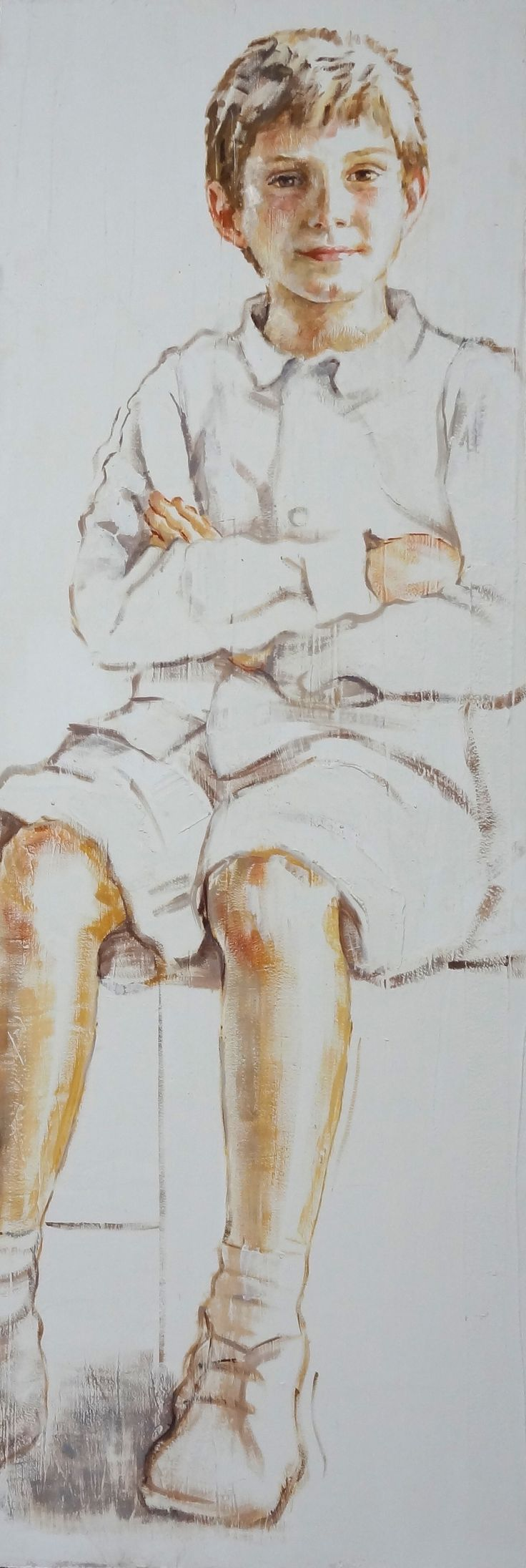 niño retrato - M. Isabel Barros Alcalde