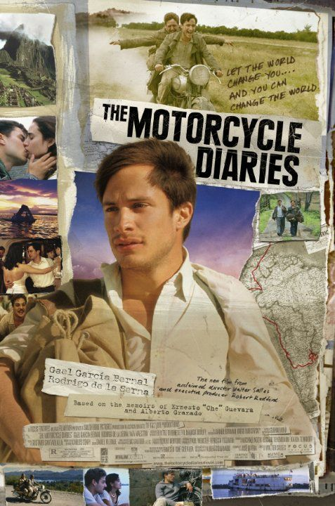 http://www.imdb.com/title/tt0318462 The dramatization of a motorcycle road trip Che Guevara went on in his youth that showed him his life's calling.