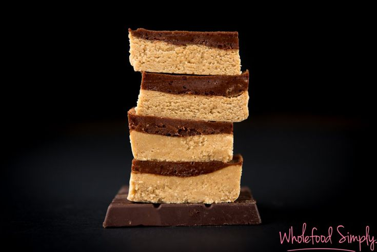 5 Ingredient Chocolate and PB Slice