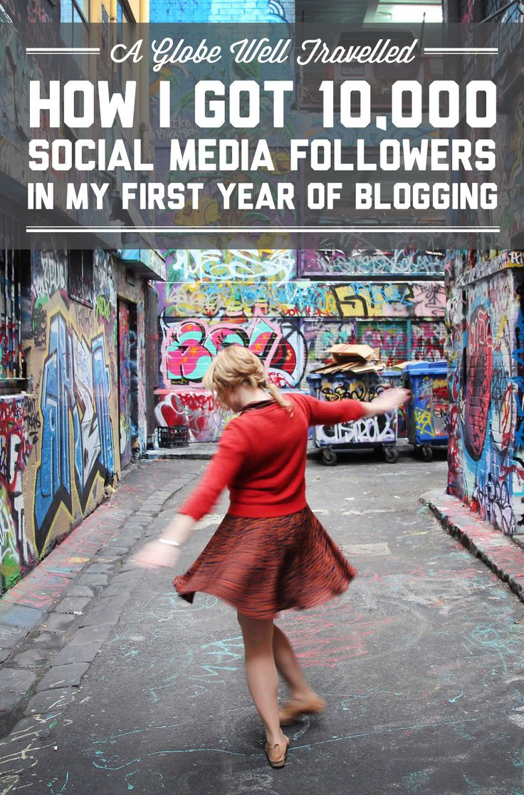 How I got 10,000 social media followers in my first year of travel blogging / A Globe Well Travelled