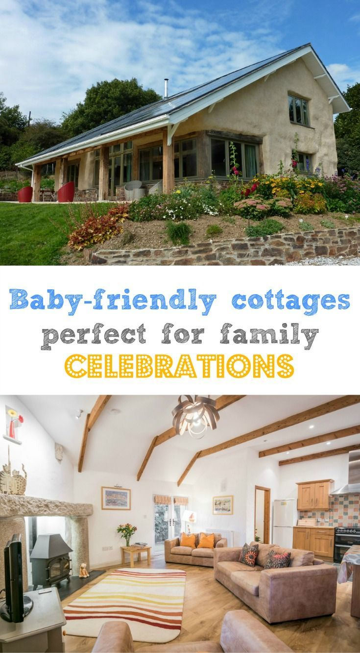 Baby-friendly cottages perfect for family celebrations at Bosinver Farm Cottages near St Austell in Cornwall, UK