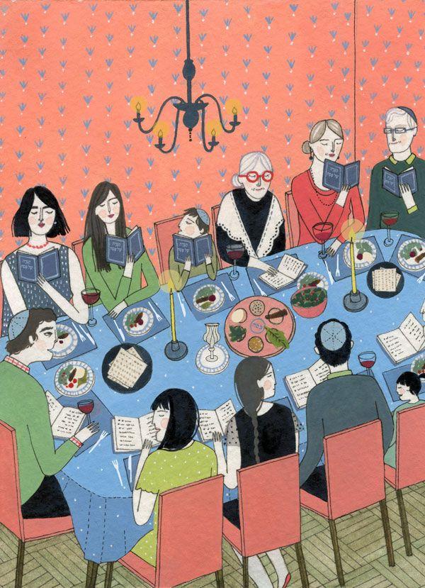 the little book of jewish celebrations - yelena bryksenkova. Pesach/Passover.  Jewish Holiday Inspiration.