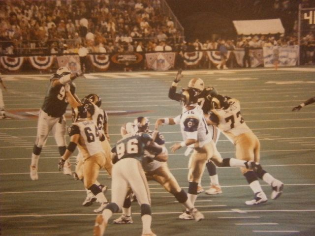 2001 Pro Football Hall of Fame Game - Canton, Ohio - August 6, 2001 - St. Louis Rams 17, Miami Dolphins 10.