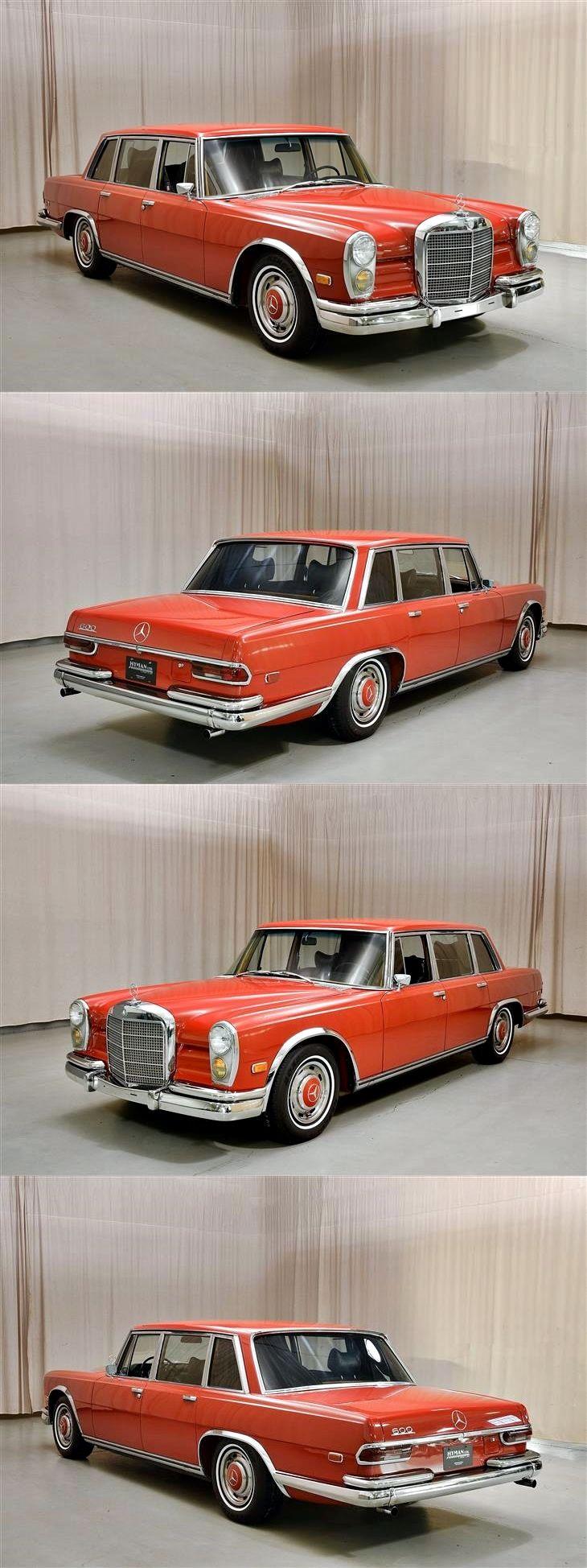 1969 mercedes-benz 600 sedan
