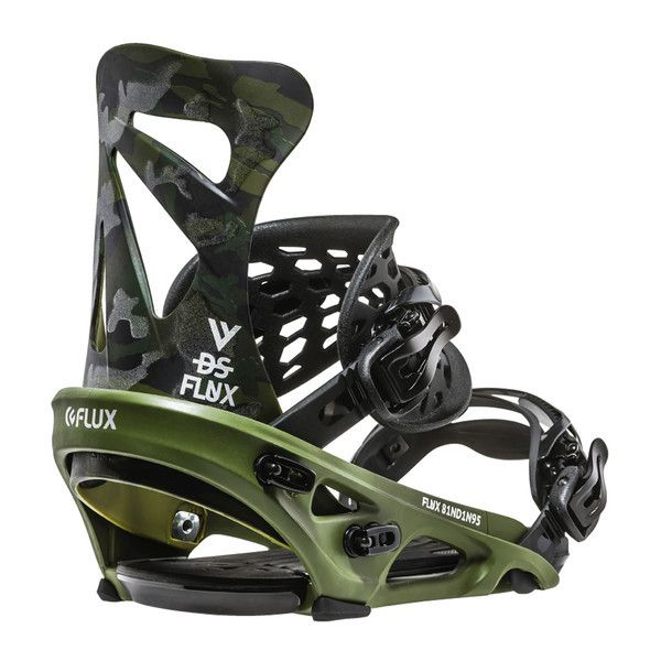 Flux DS Snowboard Bindings - Reflect Camo