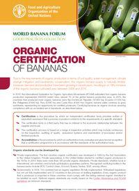 Organic Certification of Bananas