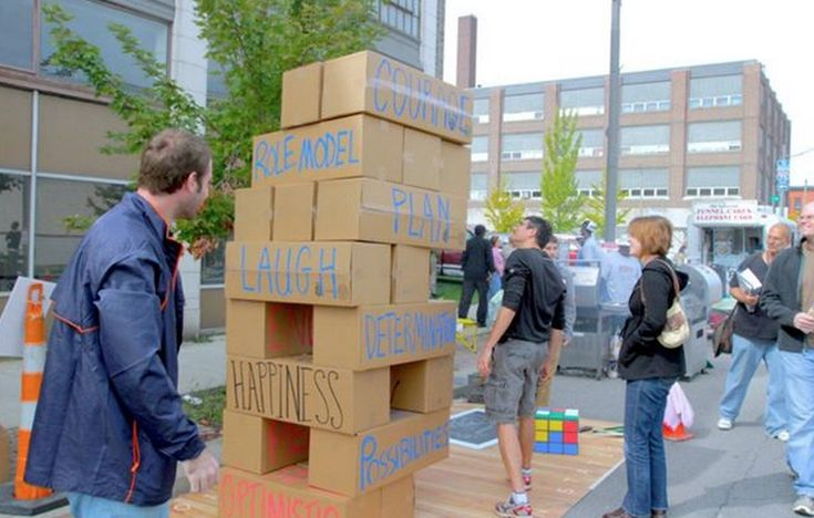 life size jenga using cardboard boxes game on pinterest crafts cardboard boxes and love. Black Bedroom Furniture Sets. Home Design Ideas