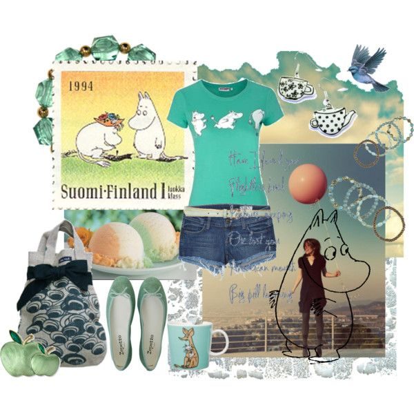 """Moomin Day"" by sonjanaimann on Polyvore"