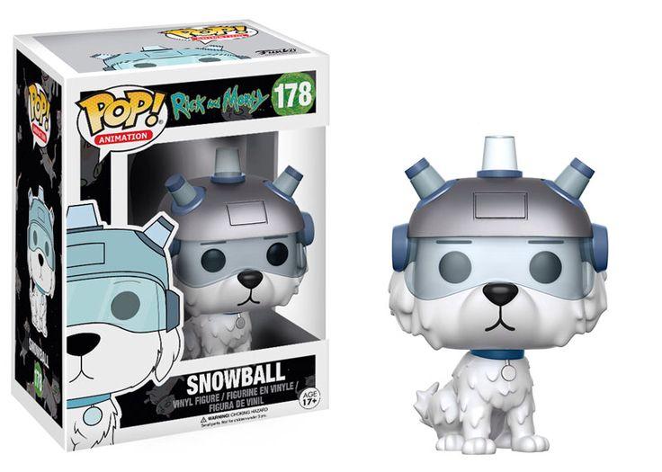 Funko pop. Rick & Morty. Snowball