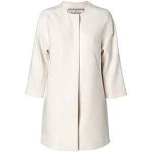 By Malene Birger Pirella solid coat worn by Crown Princess Victoria of Sweden