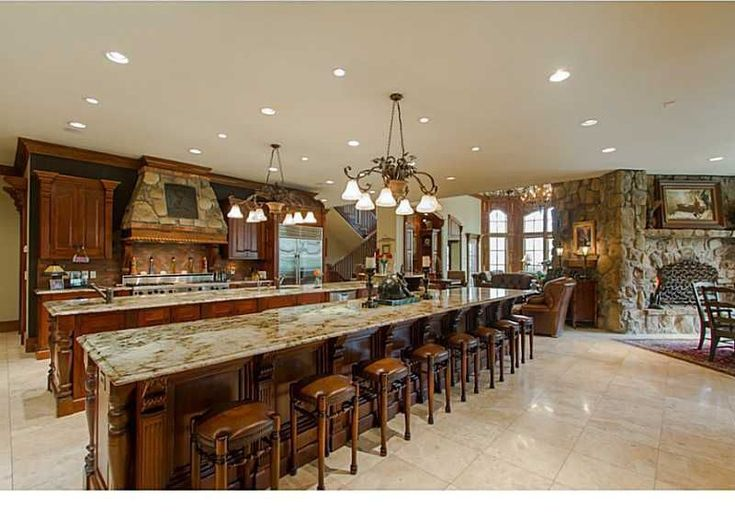 massive large kitchen islands - Google Search