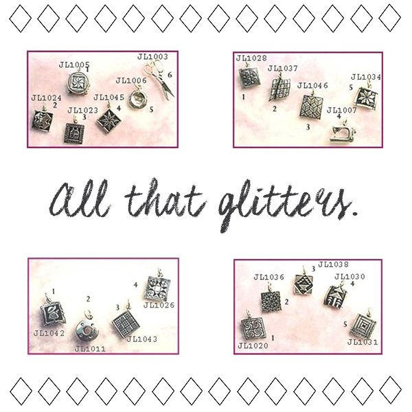 STERLING SILVER CHARMS ON CLEARANCE. Because everything is better with a little sparkle! #clearance #onsale #shopthelink #promotion #salealert #sterlingsilver #jewelry #quilting #braceletcharms #b2b #wholesale