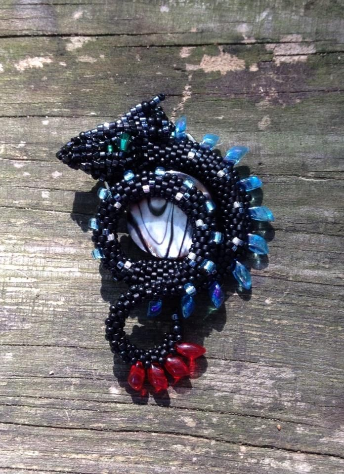 """Inspired by HTTYD - """"Alpha Toothless"""" Mini Drak by Desiree Rager Cook"""