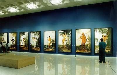 Instituto Ricardo Brennand, pinacoteca em Recife, Pernambuco, Brasil.