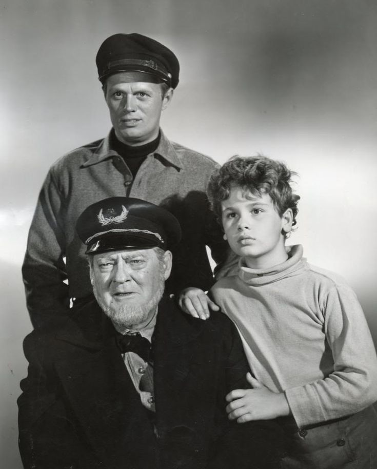 Down To The Sea In Ships filmed in 1948 with Dean Stockwell ,Richard Widmark and Lionel Barrymore.