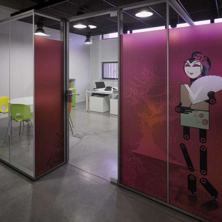 Die besten 25+ Glastrennwand Ideen auf Pinterest Glas Trennwände - offene kueche wohnzimmer abtrennen glas