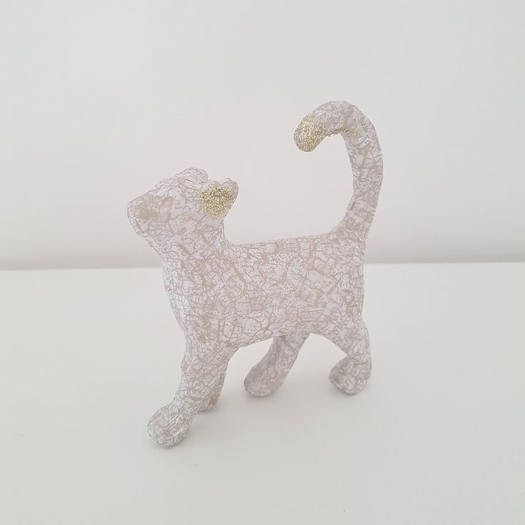 Cat Jewellery Holder, Ring Holder, Cat Ornament, Cat Statue, Jewellery Collection Holder, Small Home Decor, Gift for her, Cat lover, Glitter by BlushedCreationsXOXO on Etsy
