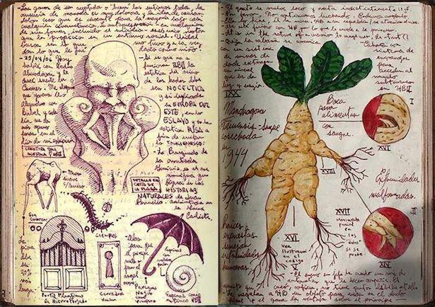 Take a Look Inside Guillermo del Toro's Sketchbook! — GeekTyrant