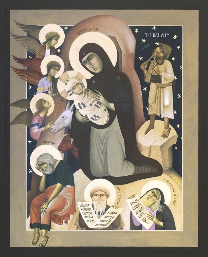 Should be the Nativity, by the wonderful artist Fikos