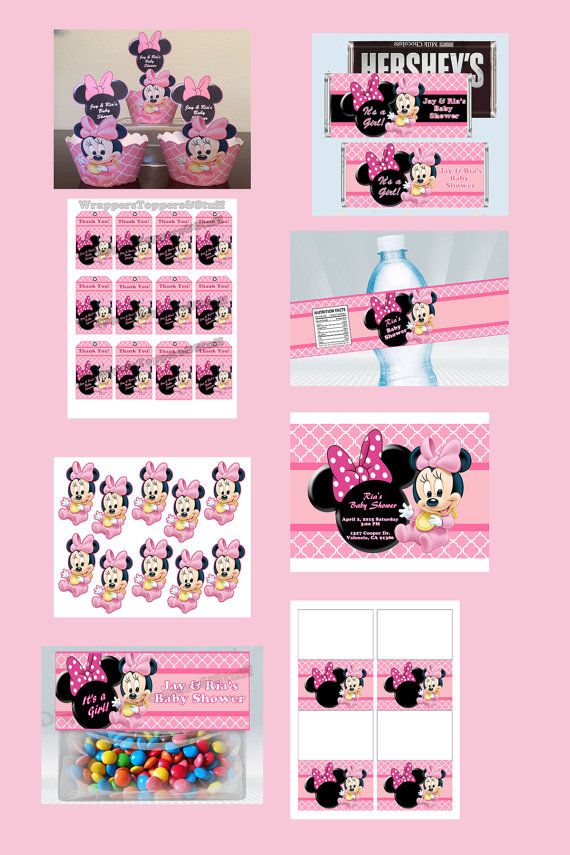 158 best Party Minnie Baby Deco images on Pinterest | Mini mouse ...