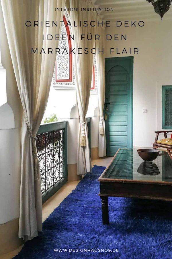 Orientalische Deko Ideen für den Marrakesch Stil | Interior Design ...