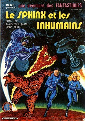 Une aventure des Fantastiques Le Sphinx et les Inhumains est un album de bande dessinée ou comics, édité par les éditions LUG - Comics-France.com