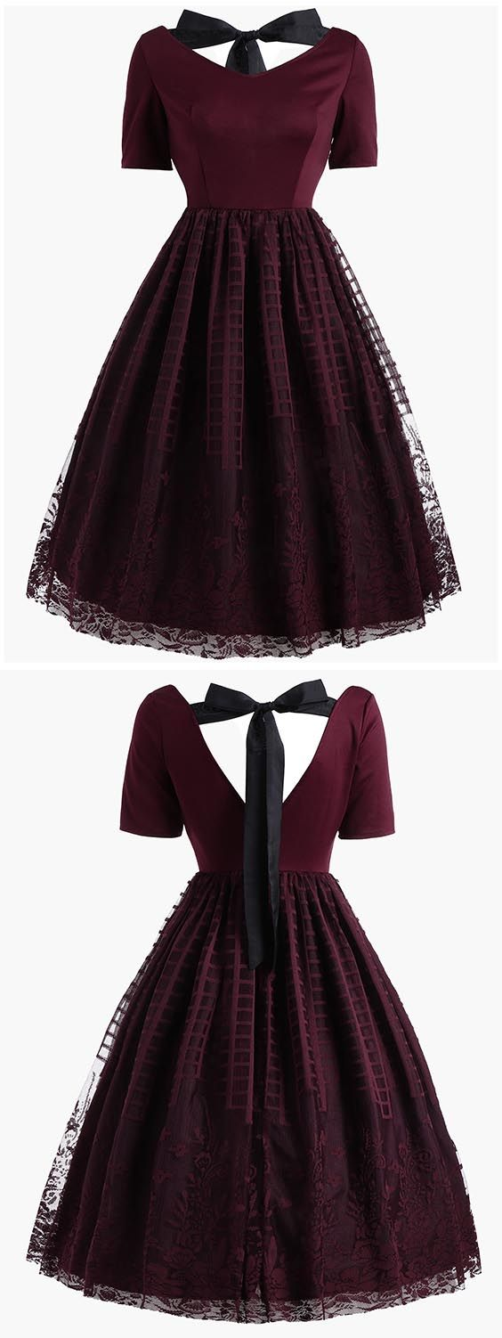 $24.10 Free Shipping Worldwide!Dresslily.com offers the latest high quality Vintage Dresses at great prices.