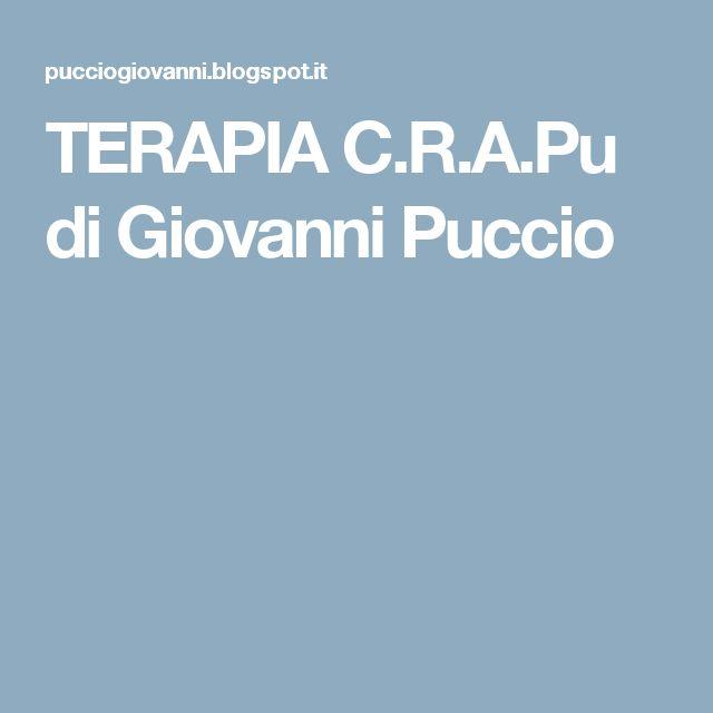 TERAPIA C.R.A.Pu di Giovanni Puccio