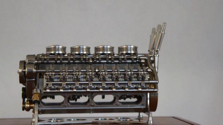 Foto de Motor miniatura Patelo W32 (3/20)