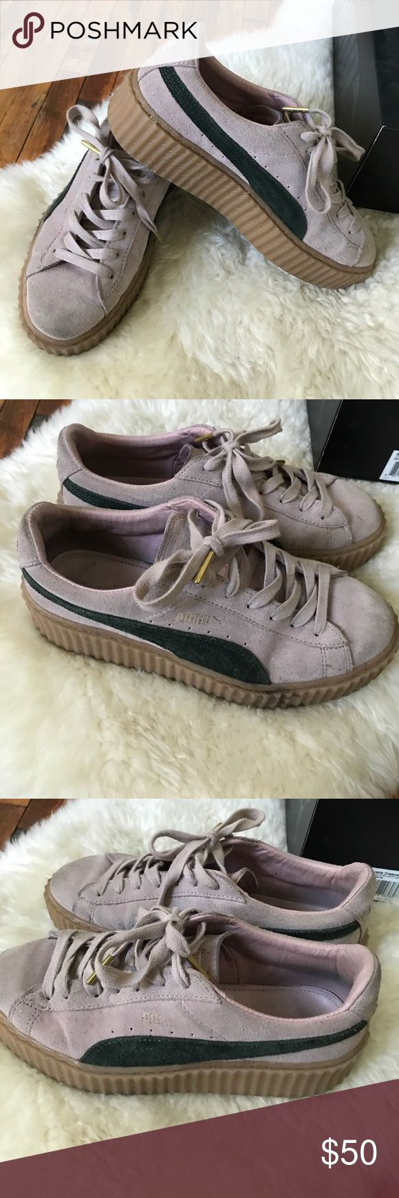 RIHANNA FENTY PUMA CREEPERS Worn. Size 7.5. Open to offers 💕 Rihanna Shoes Sneakers