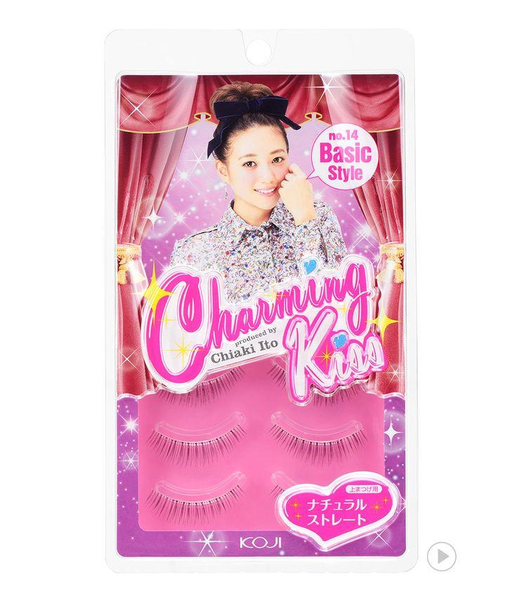 Charming Kiss Eyelash No.14 Basic Style  챠밍키스 아이래쉬 No.14 베이직 스타일