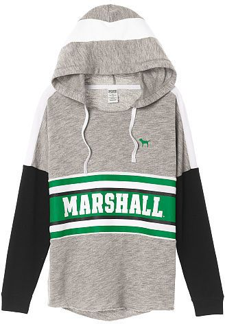 PINK Marshall University Varsity Pullover Hoodie